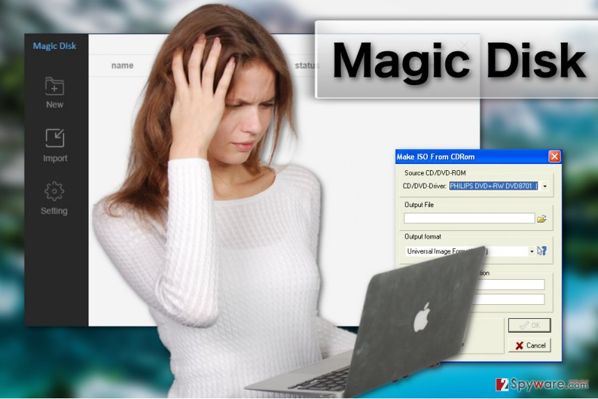 Magic Disk virus image