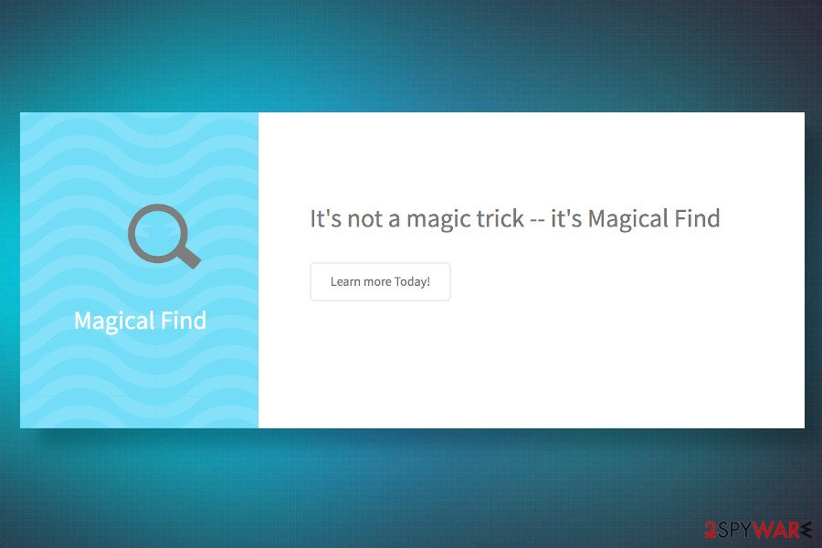 Magical find official site