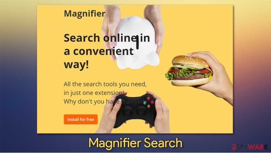 Magnifier Search virus