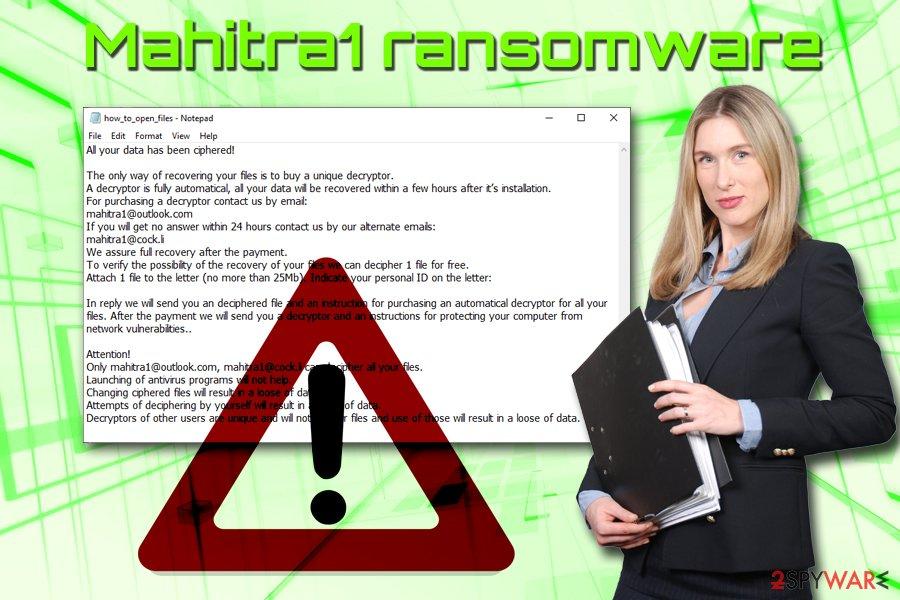 Mahitra1 ransomware virus