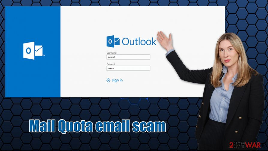 Mail Quota email scam phishing