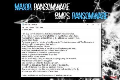 Major ransomware