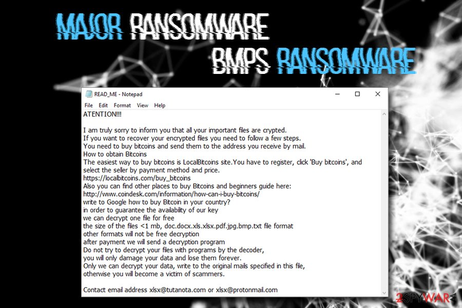 Major ransomware