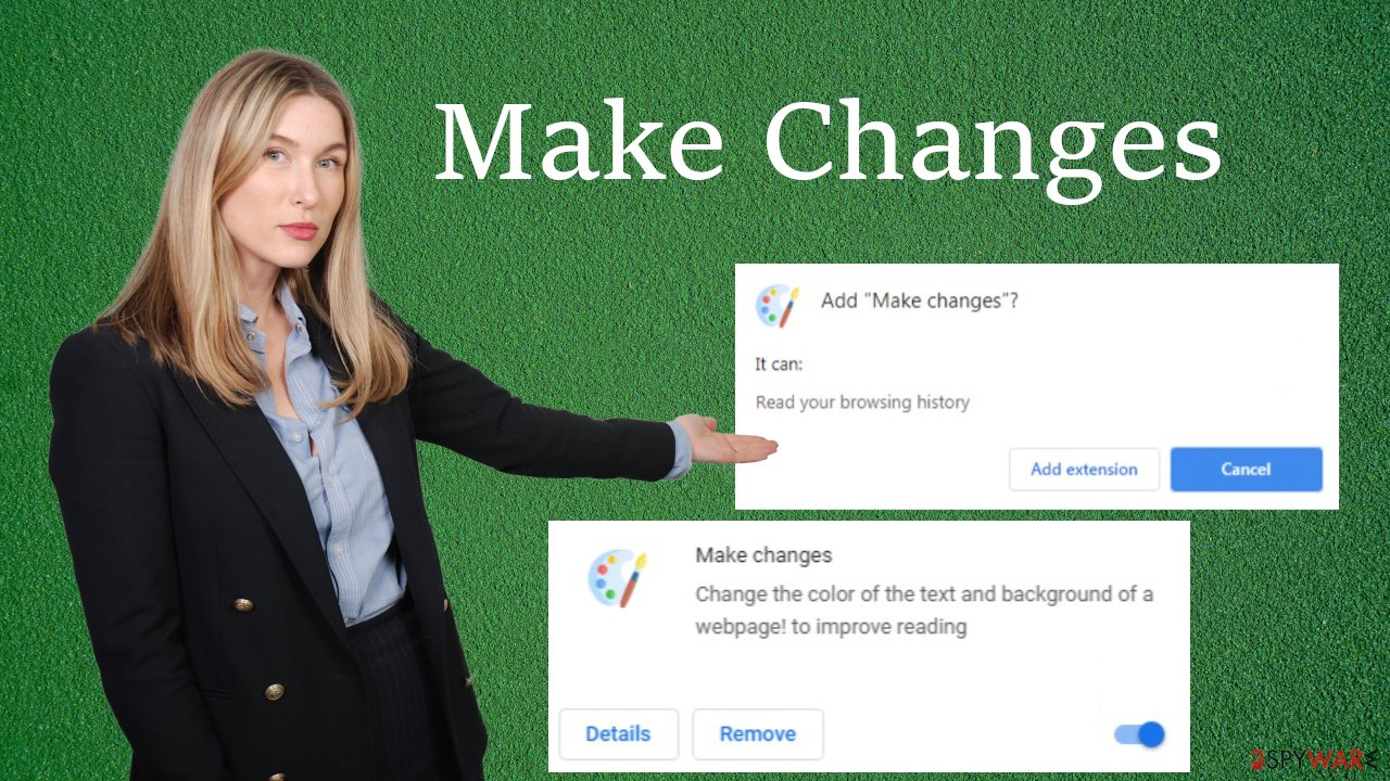 Make Changes virus