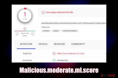 Malicious.moderate.ml.score
