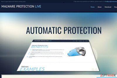 Malware Protection Live image