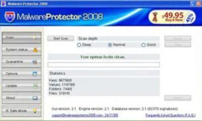 Malware Protector 2008