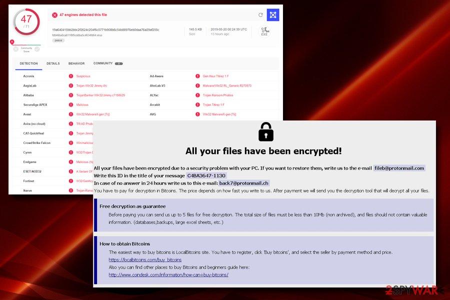 Mamba ransomware uses RDP for propagation