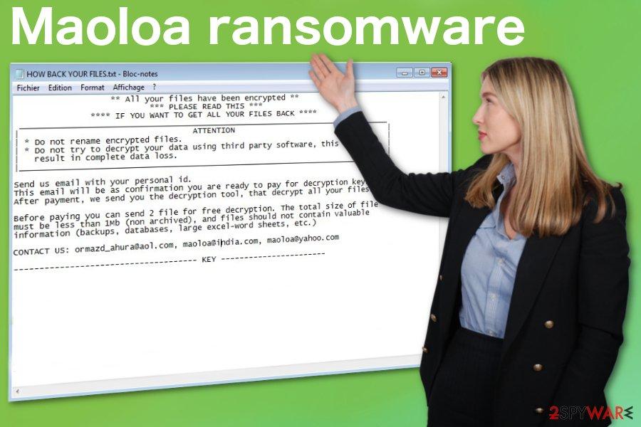 Maoloa ransomware virus