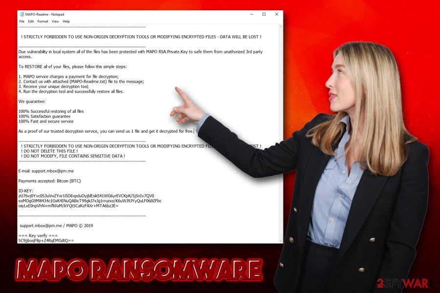 Mapo ransomware virus