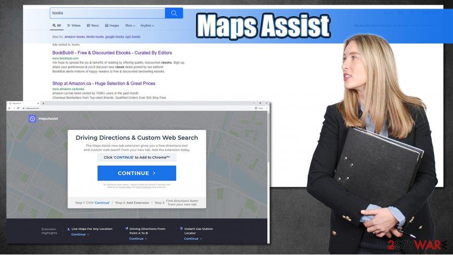 Maps Assist hijack