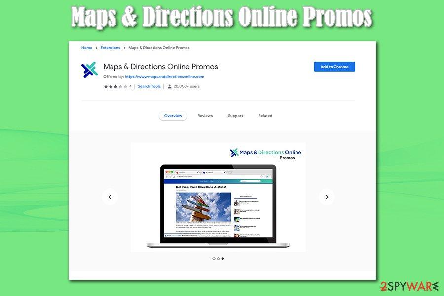 Maps & Directions Online Promos bundles