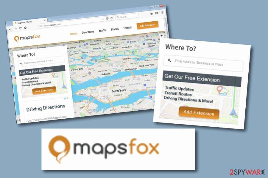 MapsFox PUP