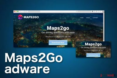 Maps2Go adware