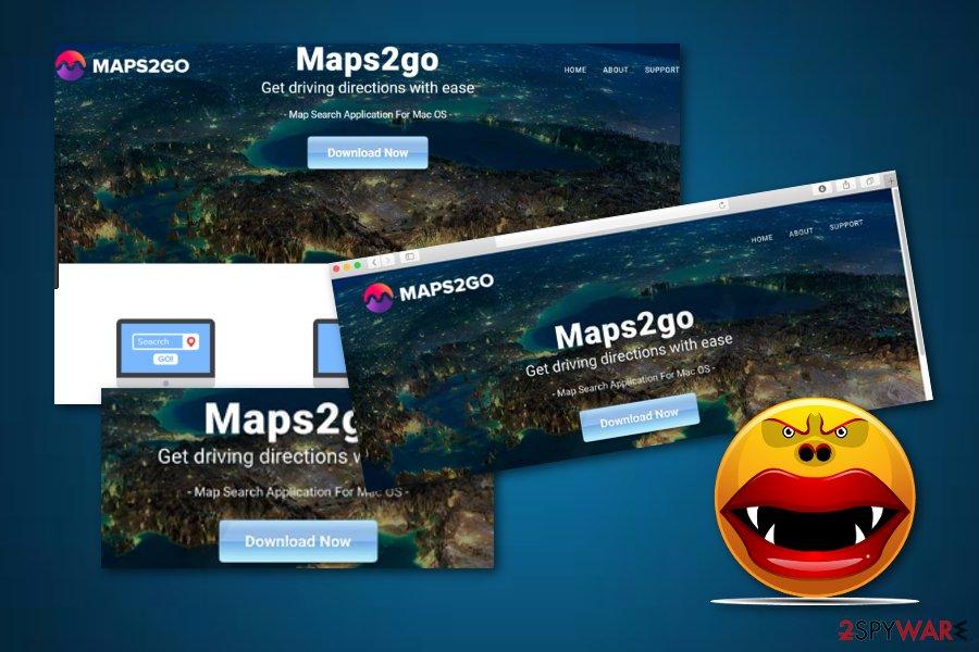 Maps2Go adware application