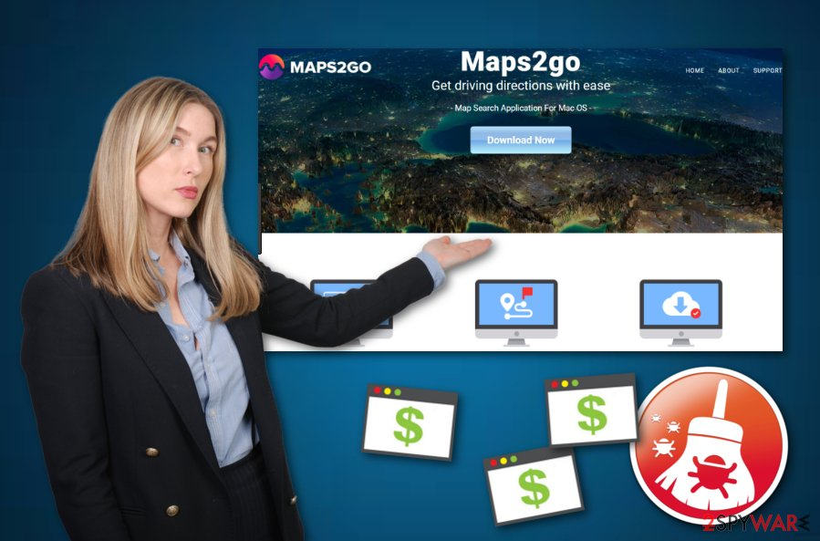 Maps2Go virus