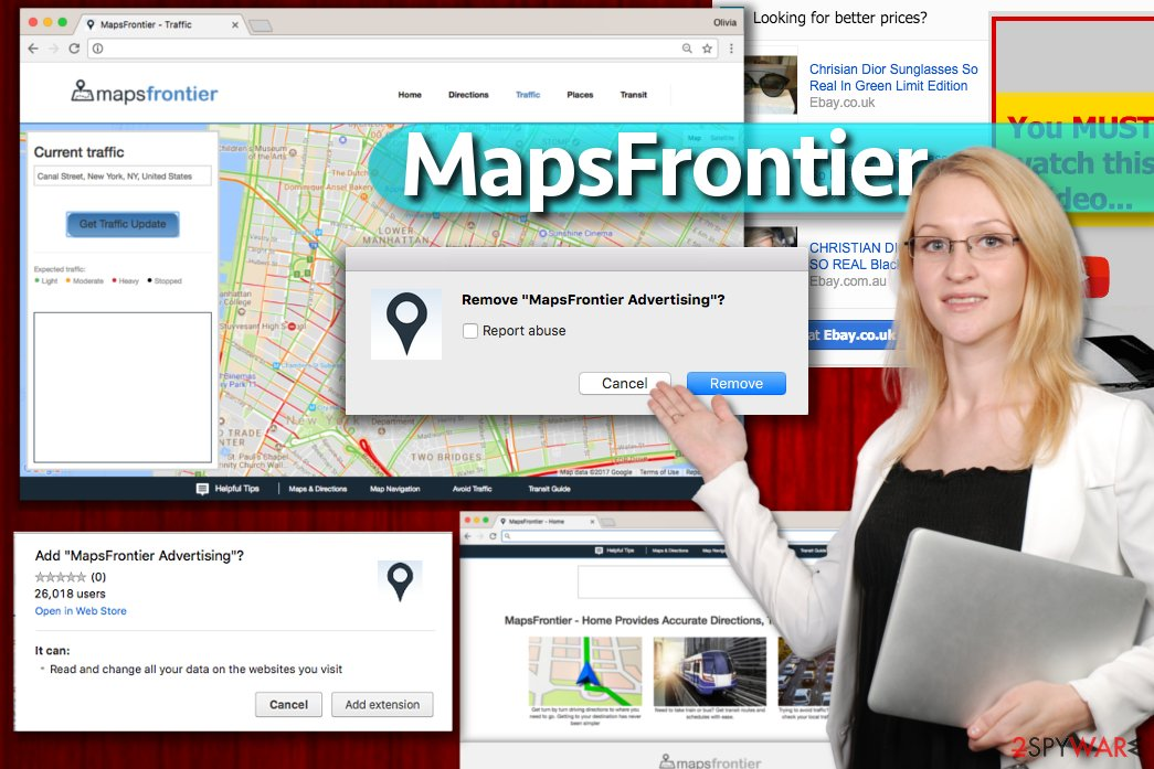 MapsFrontier virus