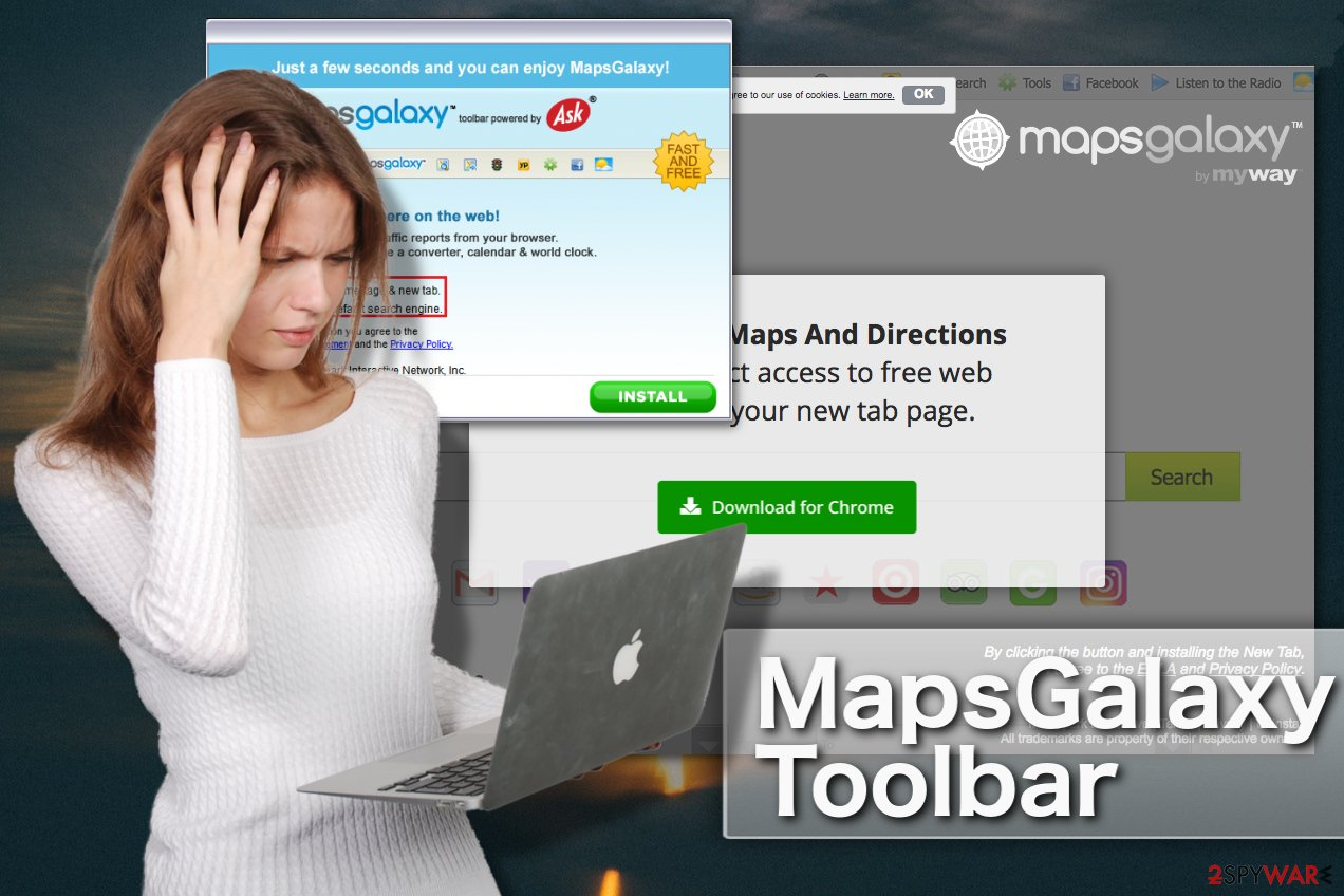 MapsGalaxy toolbar illustration