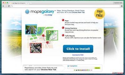 MapsGalaxy PUP