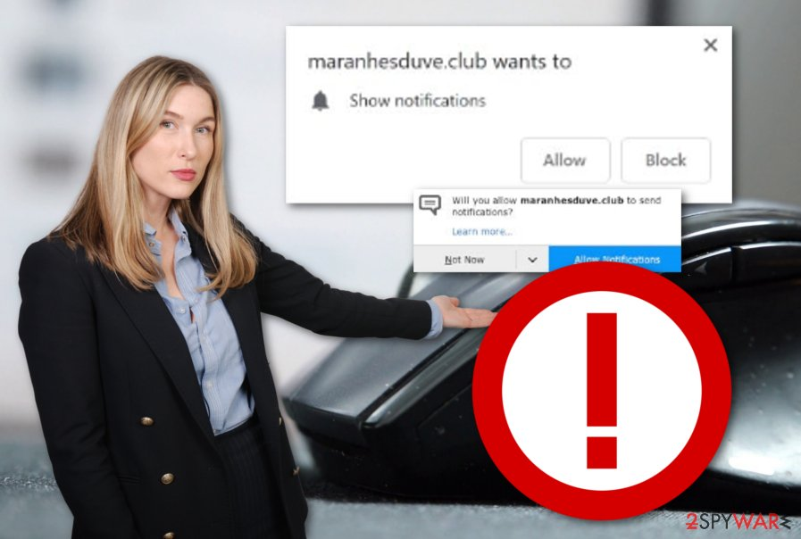 Maranhesduve.club adware program