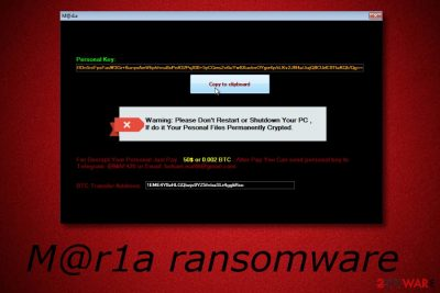 M@r1a ransomware