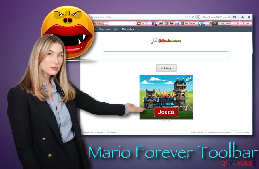 Mario Forever Toolbar virus