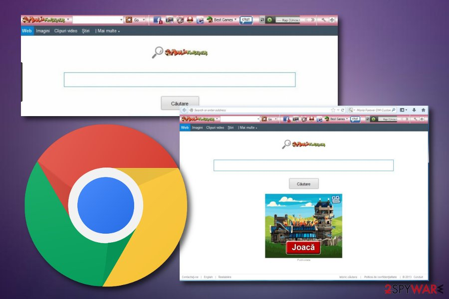 Mario Forever Toolbar browser hijacker