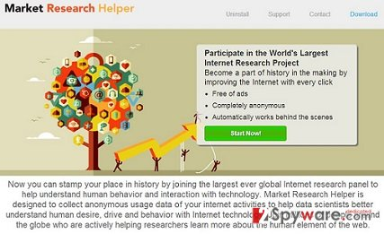 MarketResearchHelper ads snapshot