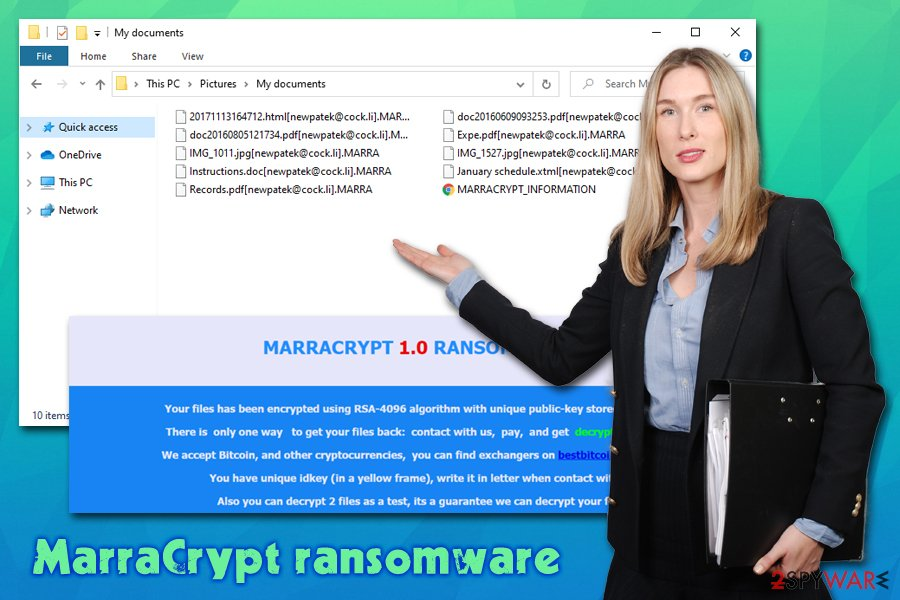 MarraCrypt ransomware virus