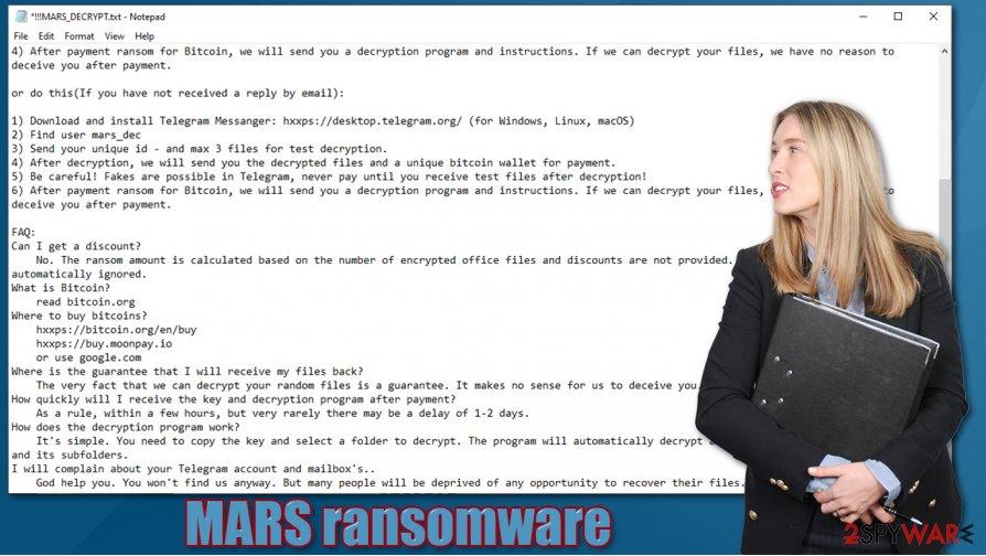 MARS ransomware virus