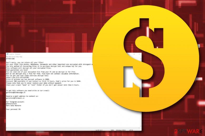 Masodas ransomware virus