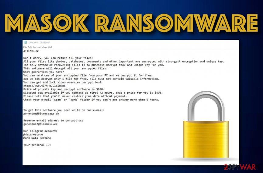 Masok ransomware