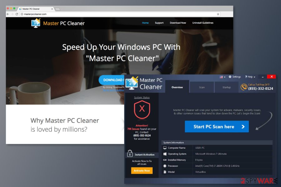 The picture of Master PC Cleaner