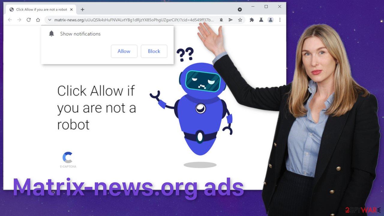 Matrix-news.org ads