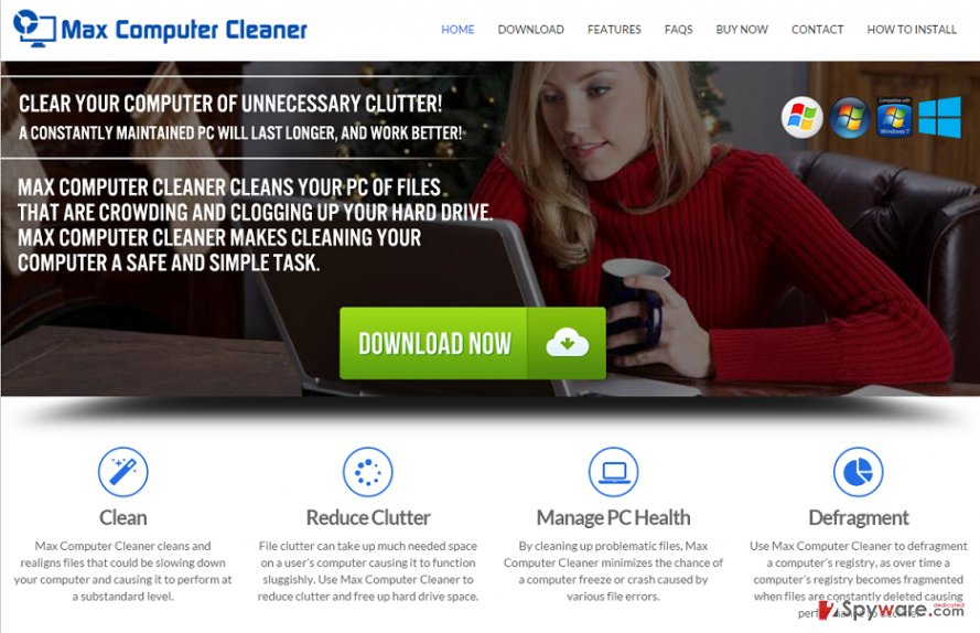 Max Computer Cleaner virus