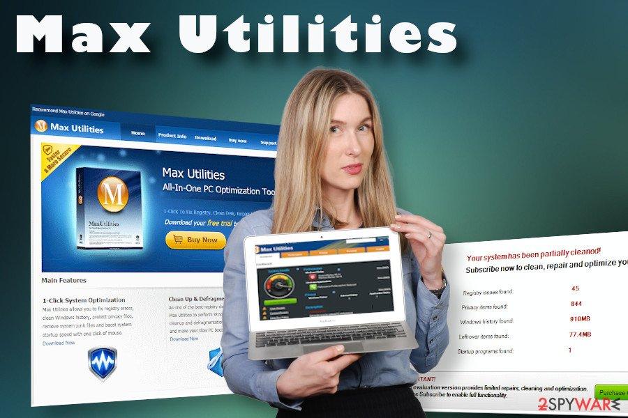 Max Utilities virus