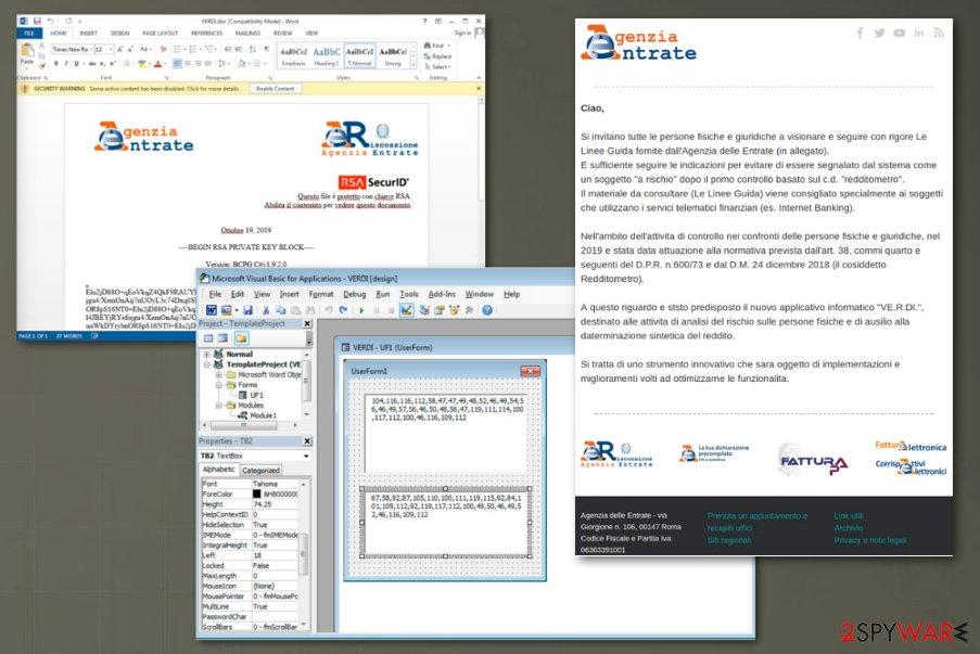 Maze ransomware Italian targets