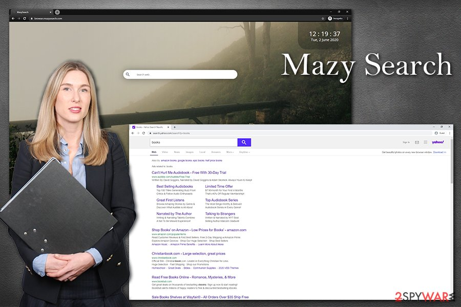 Mazy Search hijack