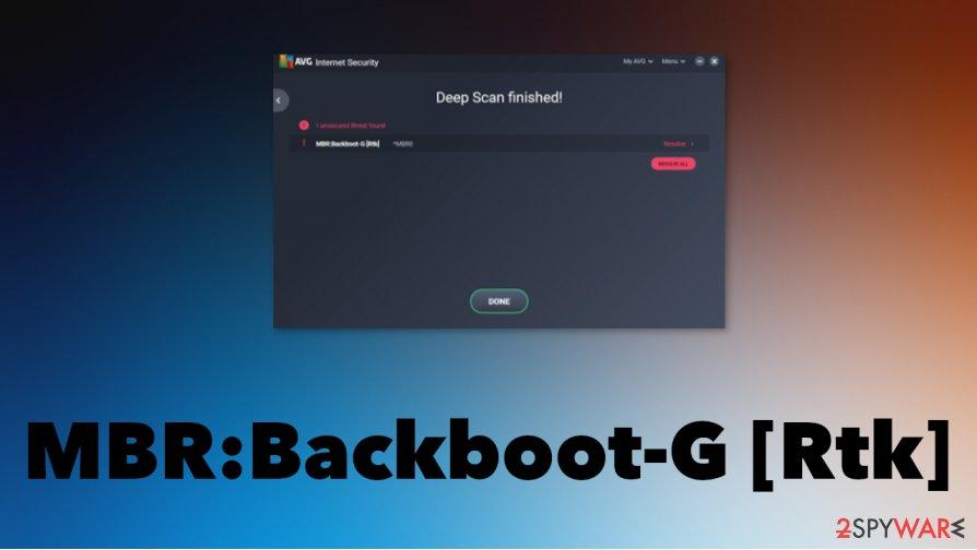 MBR:Backboot-G [Rtk]