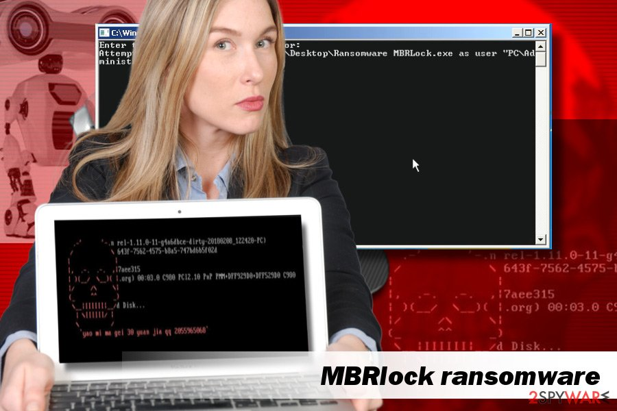 MBRlock ransomware removal tutorial