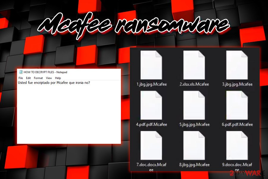 Mcafee ransomware