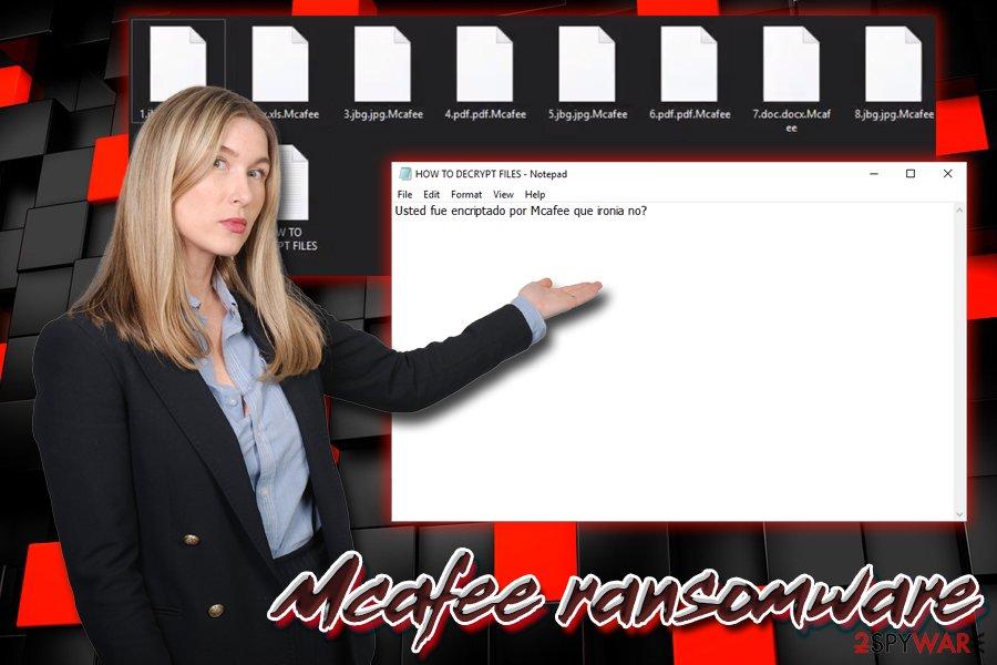 Mcafee ransomware virus