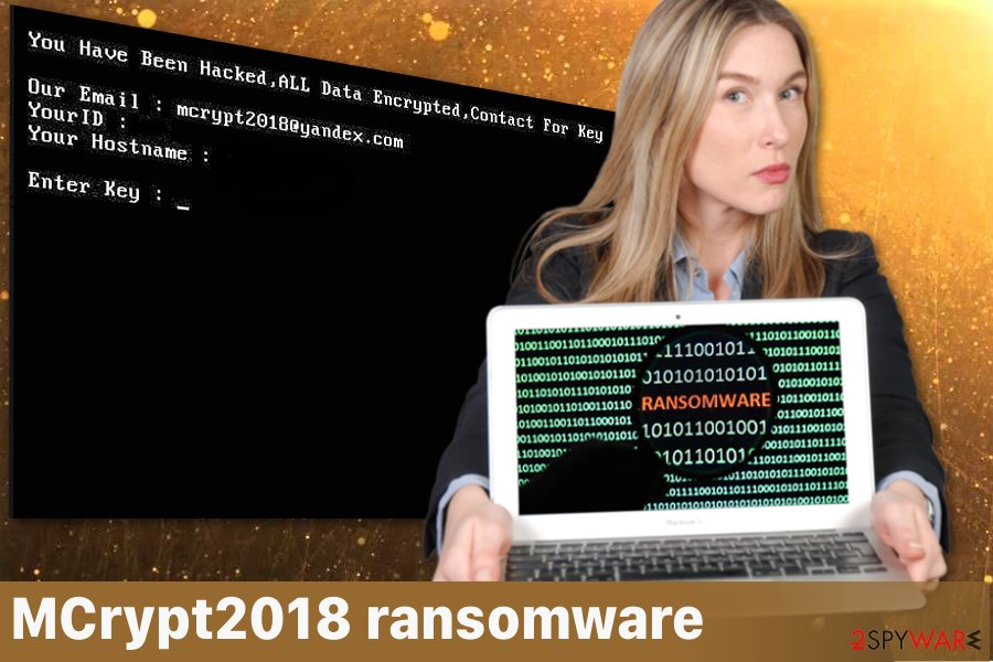MCrypt2018 ransomware