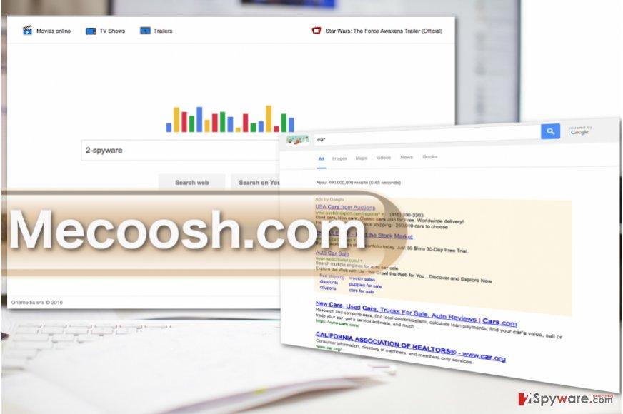 Mecoosh.com virus illustration