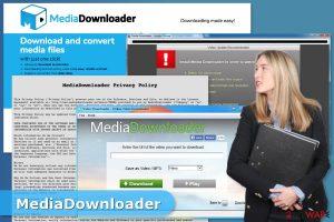 Media Downloader adware