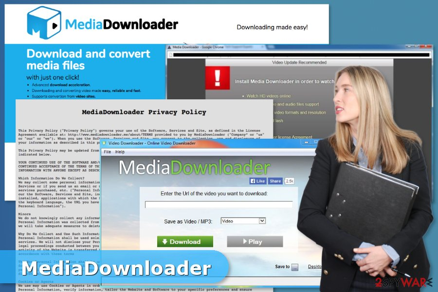 Image of Media Downloader virus