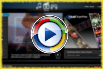 the screenshot of Media Play Air