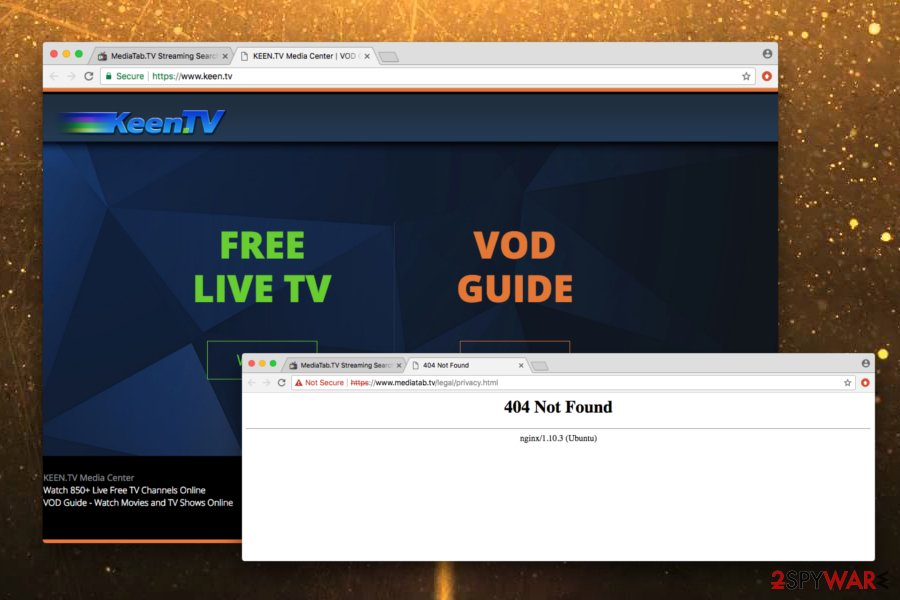 Search.mediatab.tv virus