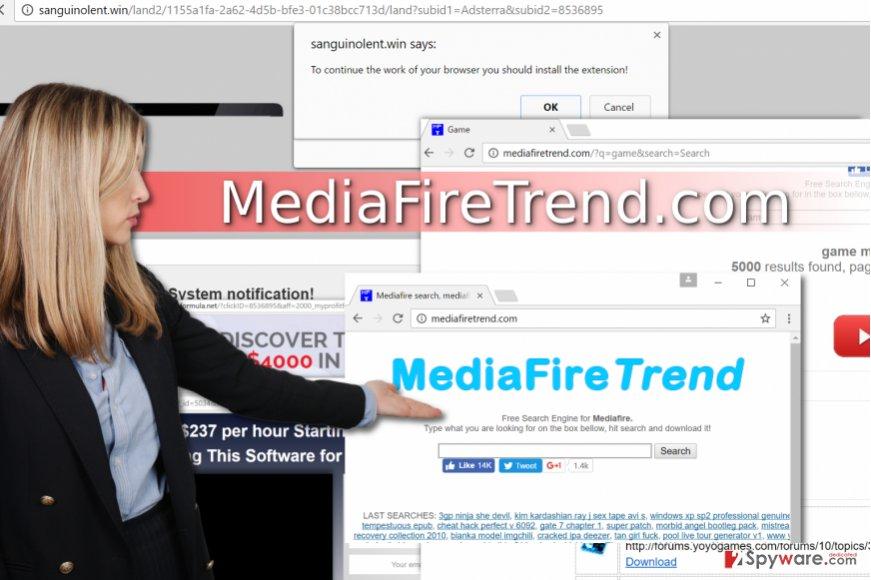 Mediafiretrend.com virus
