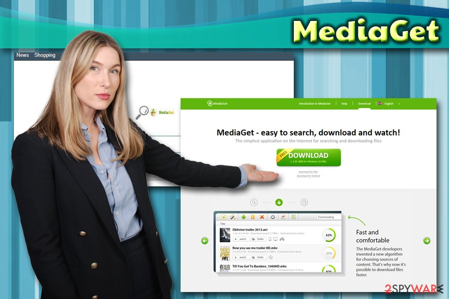 MediaGet browser hijacker